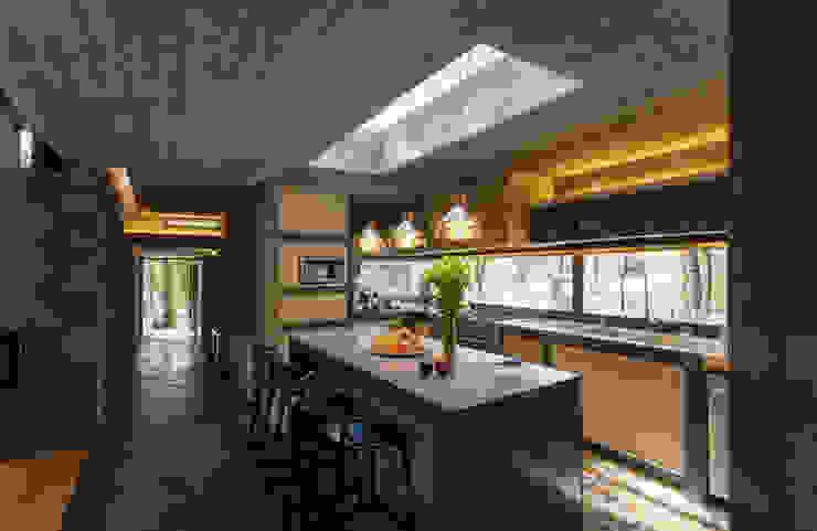 CASA M Modern Kitchen by Rivadeneyra Arquitectos Modern