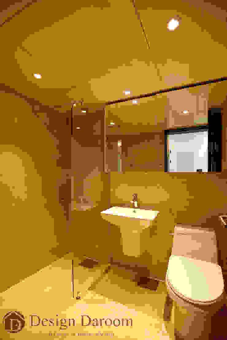 인창동 원일가대라곡 25py 거실 욕실 모던스타일 욕실 by Design Daroom 디자인다룸 모던