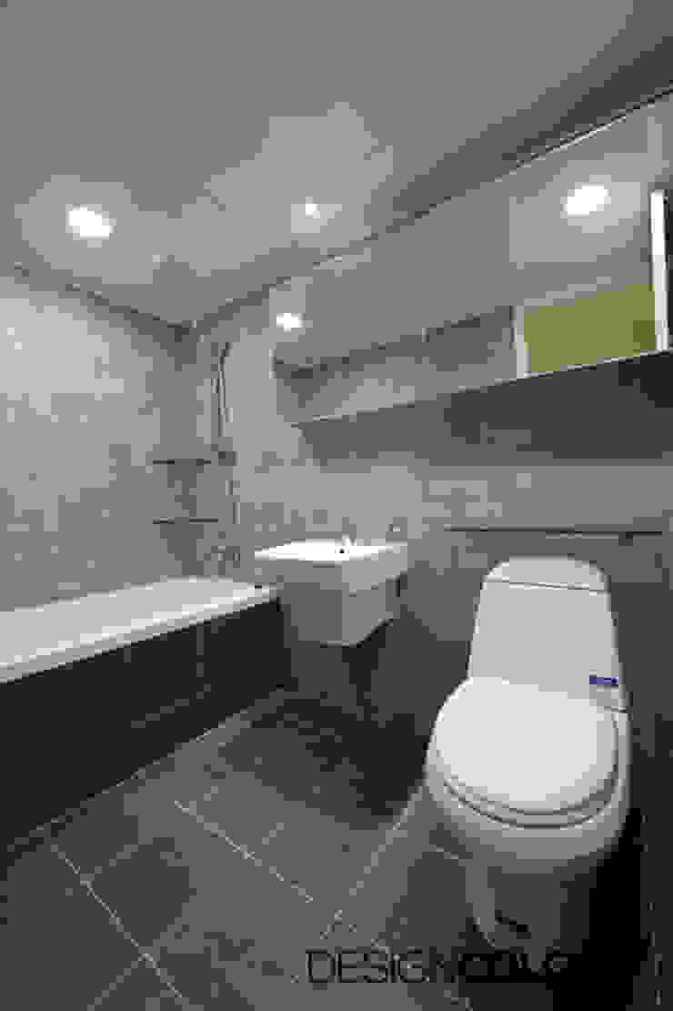 욕실 모던스타일 욕실 by DESIGNCOLORS 모던