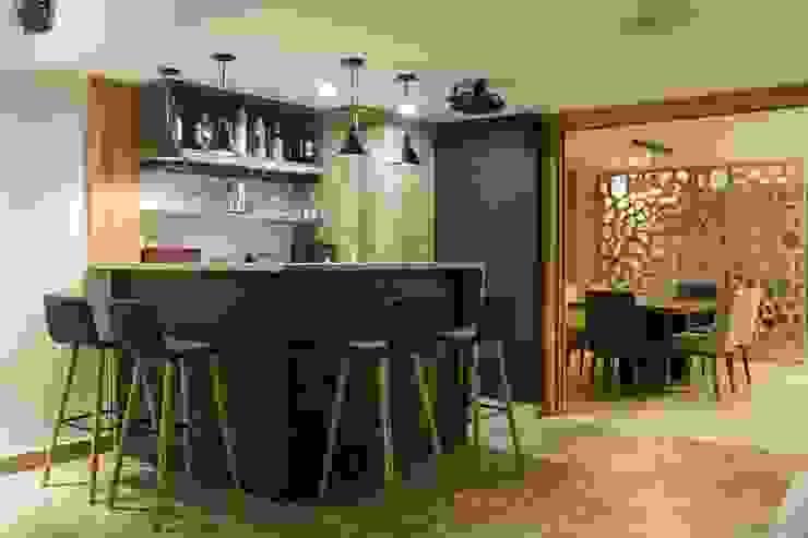 diseño interior jardín adentro Estudios y oficinas clásicos de Adrede Diseño Clásico