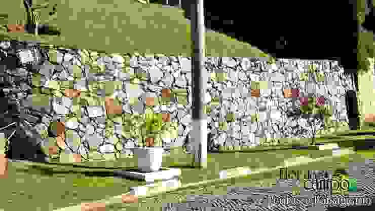 Flor do Campo Pedras e Paisagismo Rustikale Wände & Böden