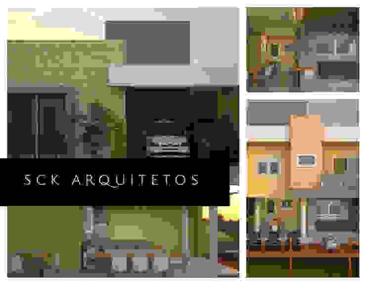 Casas modernas de SCK Arquitetos Moderno
