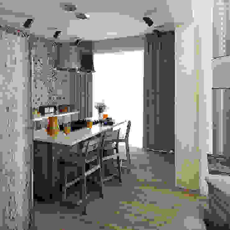 Яркая вилла на о. Кипр|Bright villa on Cyprus|Parlaklı villa Kıbrıs'ta Кухня в средиземноморском стиле от Eli's Home Средиземноморский