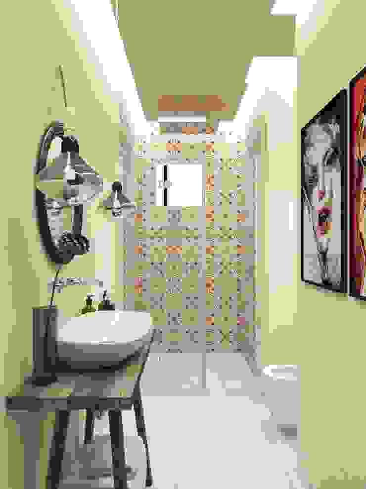 Яркая вилла на о. Кипр|Bright villa on Cyprus|Parlaklı villa Kıbrıs'ta Ванная в средиземноморском стиле от Eli's Home Средиземноморский