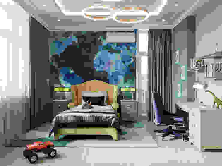 Детские комнаты в . Автор – Дизайн интерьера Киев|tishchenko.com.ua, Модерн