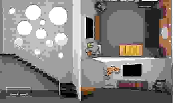 Sala de estar UOTAN Studio Salones modernos