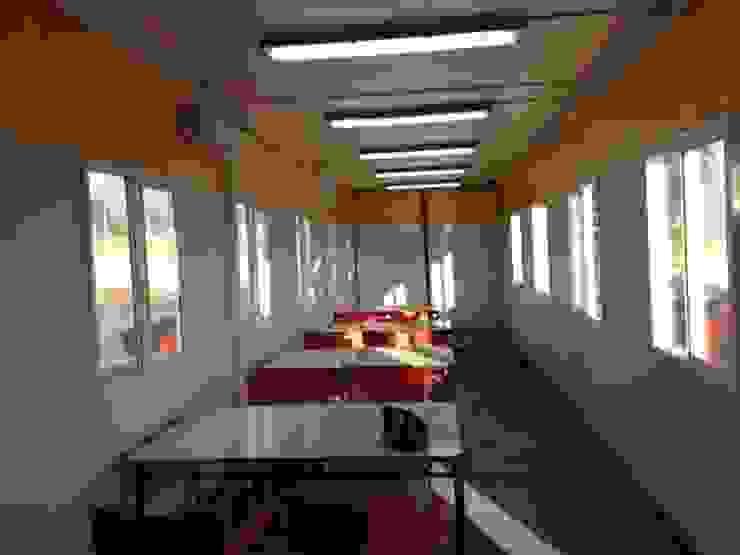 Comedores con sistema de iluminación LED de Arqsol Industrial