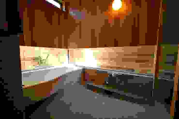 株式会社高野設計工房 모던스타일 욕실