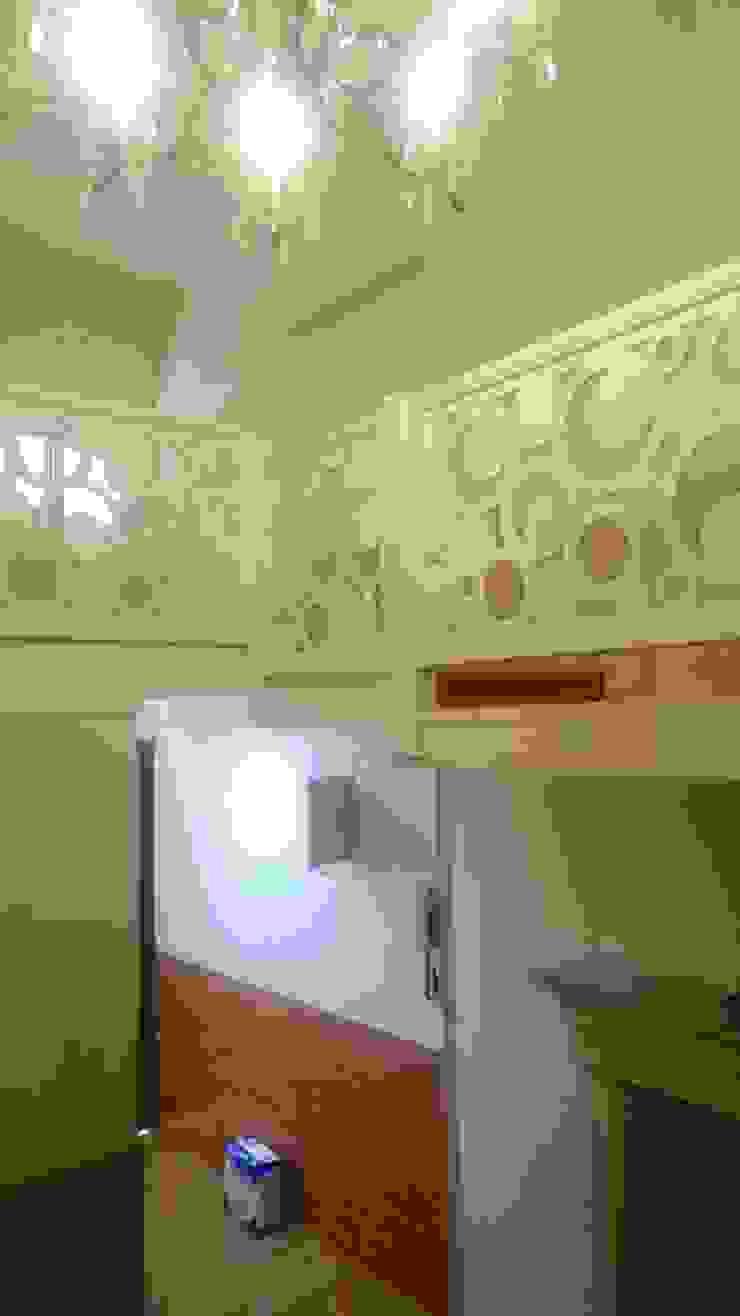 樓梯走廊施工前 圓方空間設計