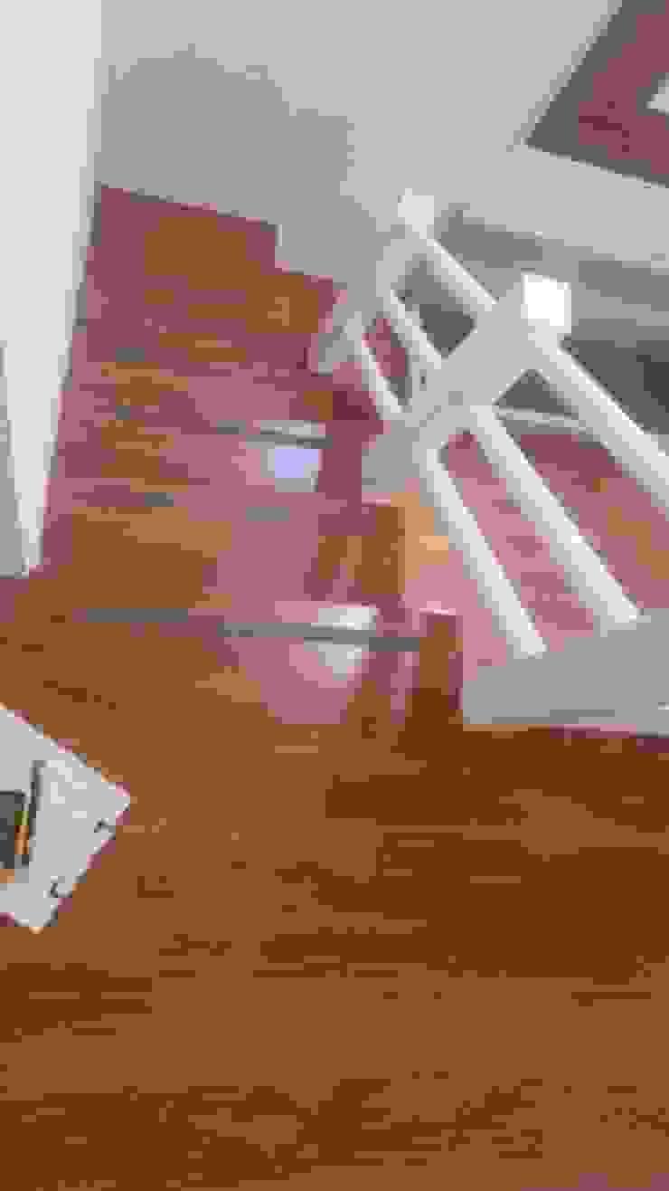 施工前樓梯 圓方空間設計