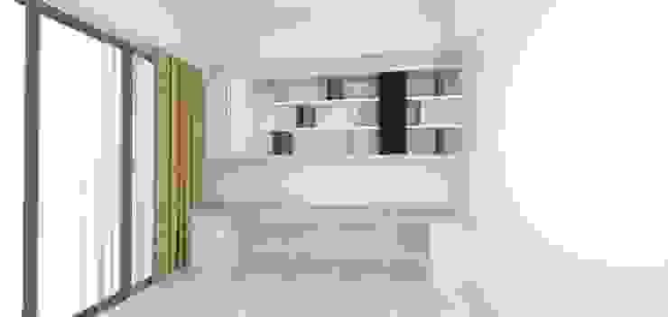 書房3D呈現 by 圓方空間設計