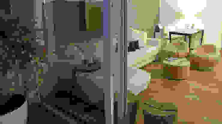Piccolo attico open space Soggiorno moderno di FRANCESCO CARDANO Interior designer Moderno