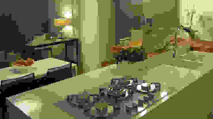 Piccolo attico open space Cucina moderna di FRANCESCO CARDANO Interior designer Moderno