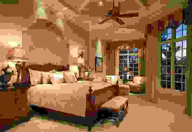 Mediterranean Bedroom Mediterranean style bedroom by Subramanian- Homify Mediterranean