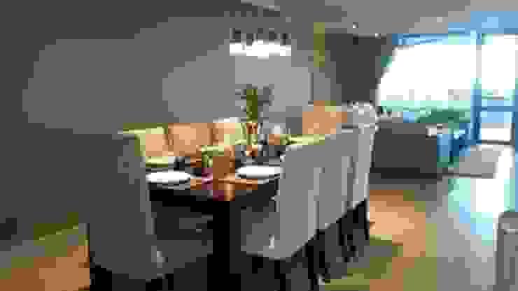 Sandton Style Penthouse Living Modern dining room by CKW Lifestyle Associates PTY Ltd Modern