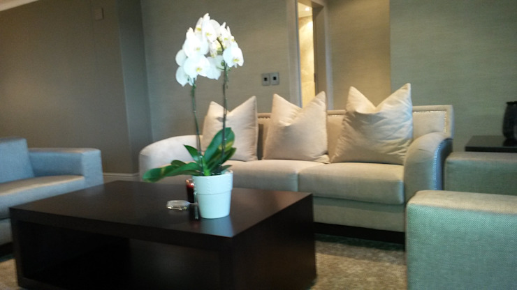 Sandton Style Penthouse Living Modern living room by CKW Lifestyle Associates PTY Ltd Modern