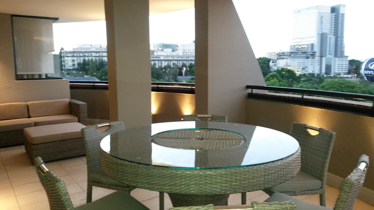 Sandton Style Penthouse Living by CKW Lifestyle Associates PTY Ltd Modern