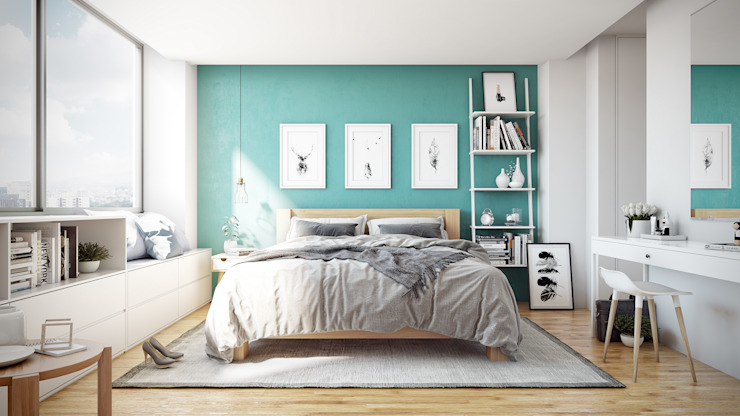 TACTIL Arquitectura Scandinavian style bedroom