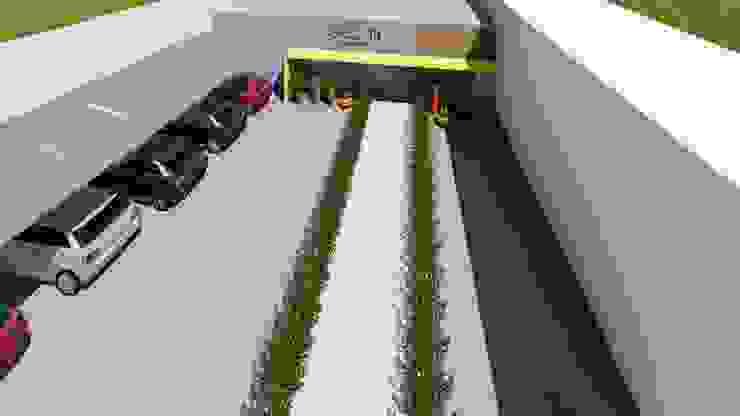 Detalhe Arquitetura e Engenharia Moderne Geschäftsräume & Stores