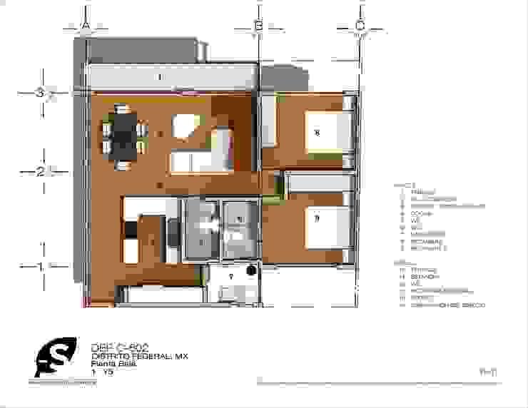 Casas modernas de Proyecto-S Moderno