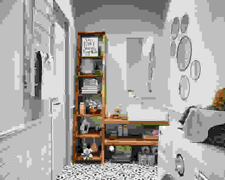 Vivo Ванная комната в скандинавском стиле от Family Cozy Скандинавский