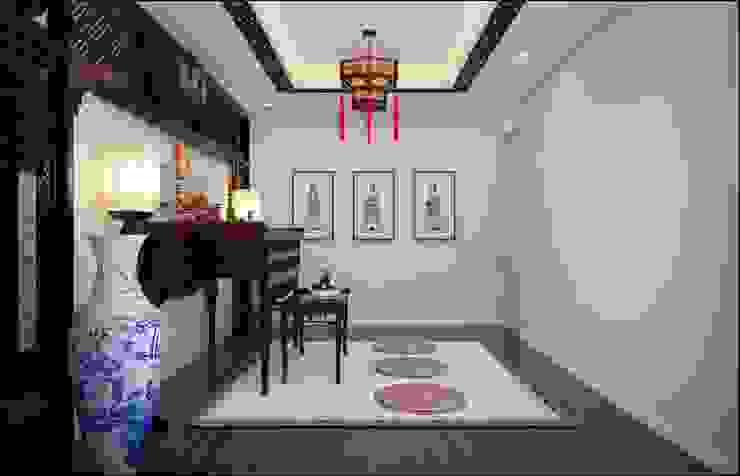 20 Mẫu Thiết Kế Phòng Thờ Đẹp Theo Phong Thủy Cho Nhà Ống Hiện Đại Hiên, sân thượng phong cách châu Á bởi Công ty Thiết Kế Xây Dựng Song Phát Châu Á