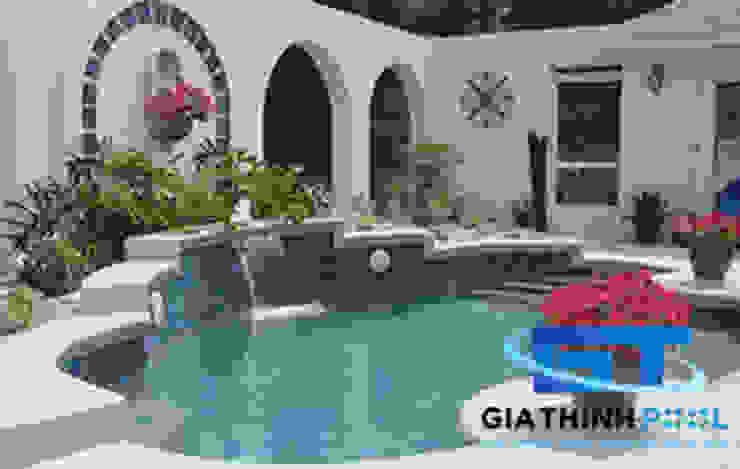 Chi phí xây dựng hồ bơi gia đình by GiaThinhPool & SPA
