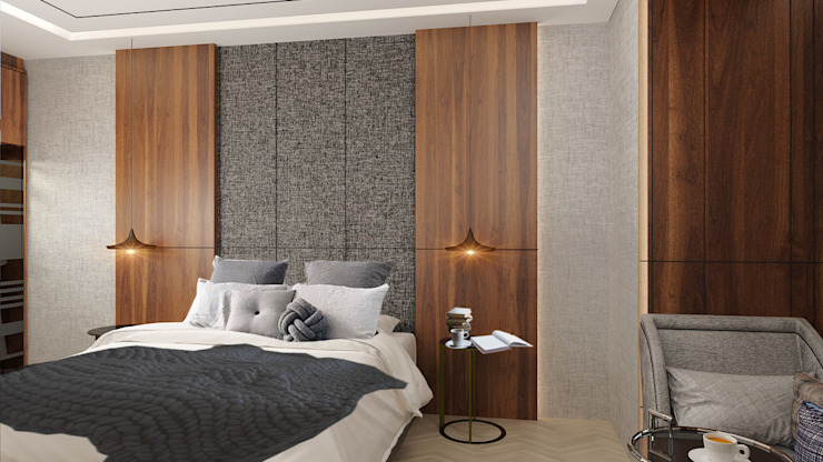 MasterBedroom Kamar Tidur Modern Oleh Co+in Collaborative Lab Modern Kayu Wood effect