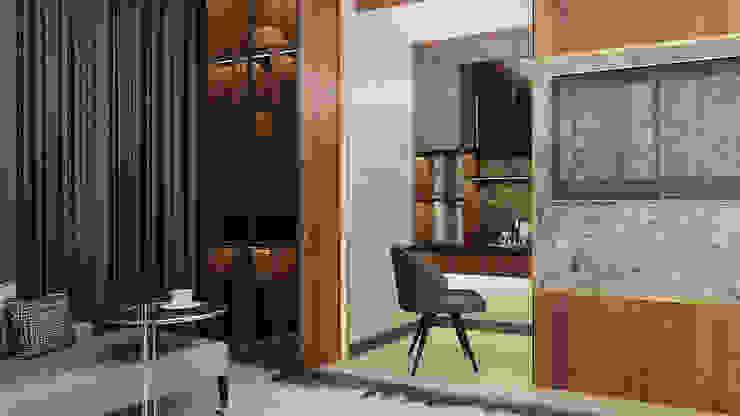 Study Area Ruang Studi/Kantor Modern Oleh Co+in Collaborative Lab Modern
