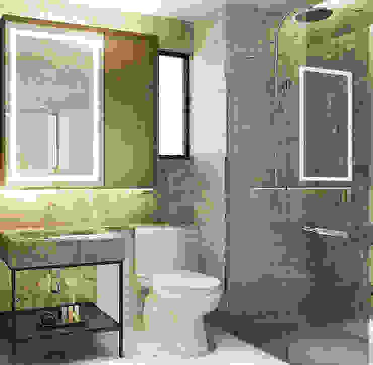 Masterbathroom Kamar Mandi Modern Oleh Co+in Collaborative Lab Modern