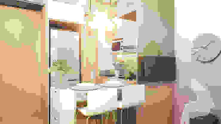 Living & Dining Area Dapur Minimalis Oleh Co+in Collaborative Lab Minimalis