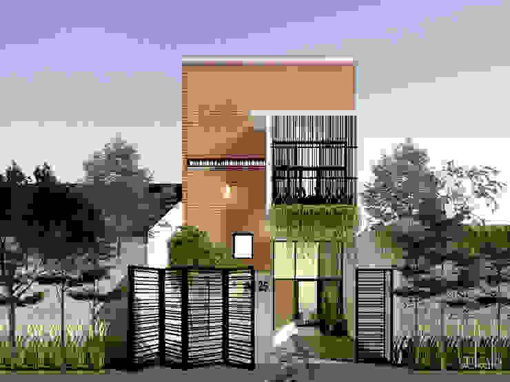 Modern Houses by SEKALA Studio Modern Bricks