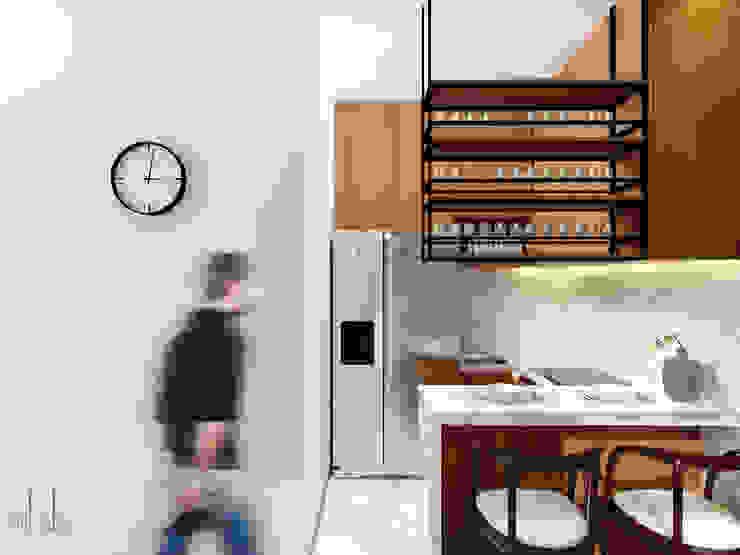 Interior Rumah Cutra Harmoni Dapur Modern Oleh SEKALA Studio Modern Kayu Lapis