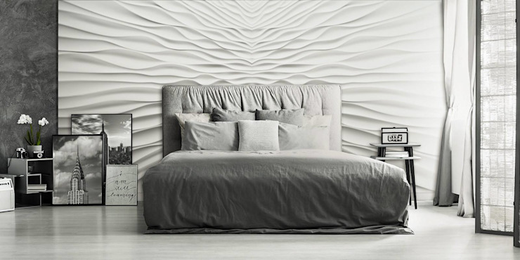 Bedroom by Loft Design System Deutschland - Wandpaneele aus Bayern, Eclectic