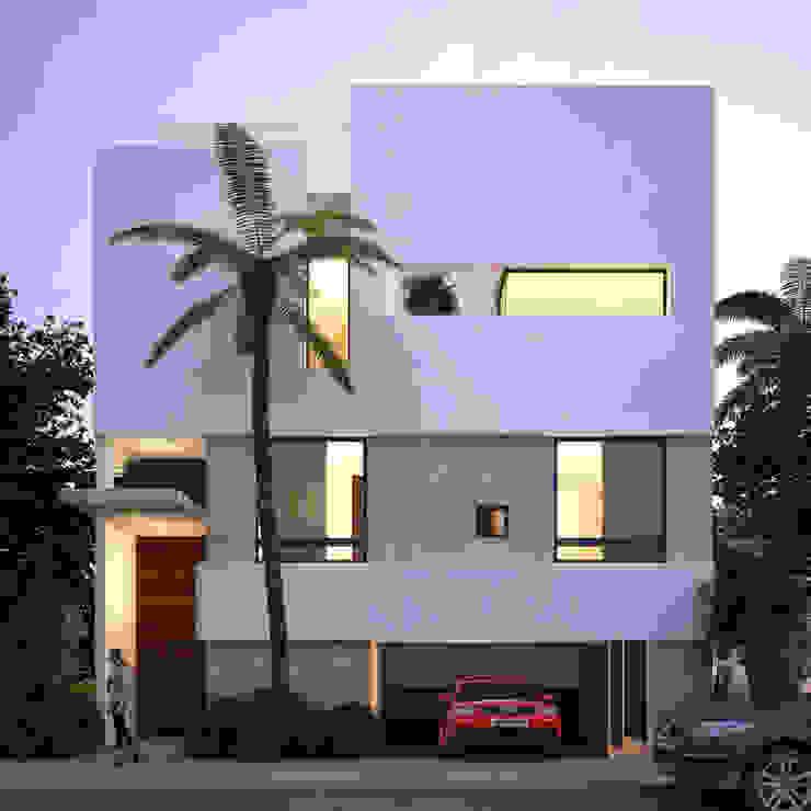 fachada principal de Daniel Cota Arquitectura | Despacho de arquitectos | Cancún