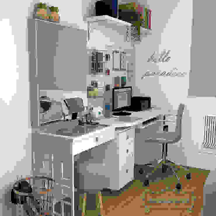 Decoropravocê - Decoração ao seu alcance. Scandinavian style study/office