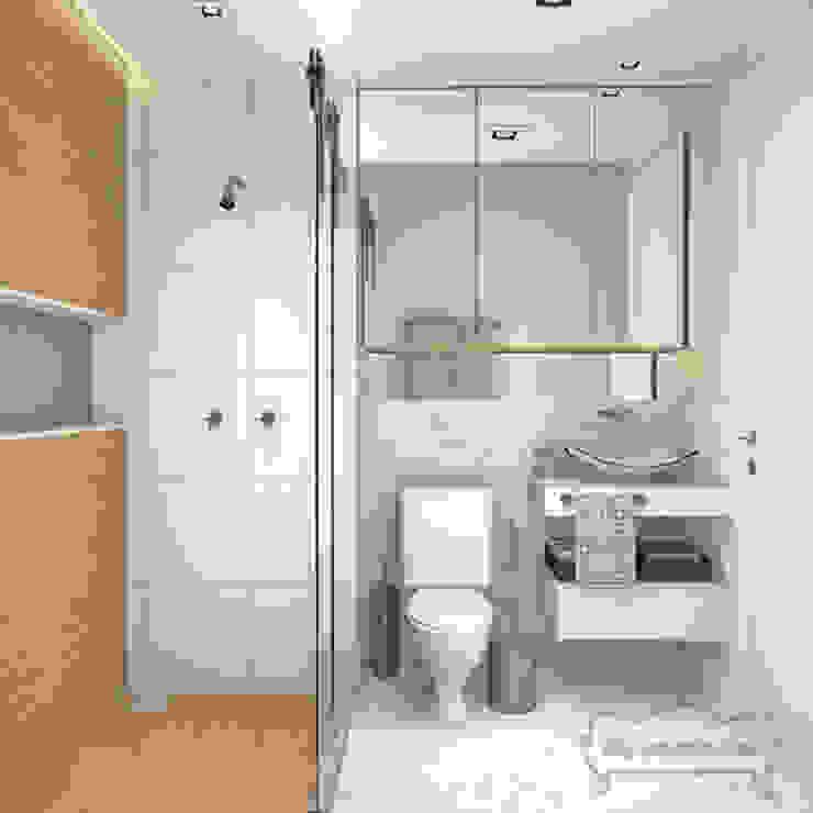 Banheiro Casal Decoropravocê - Decoração ao seu alcance. Banheiros escandinavos