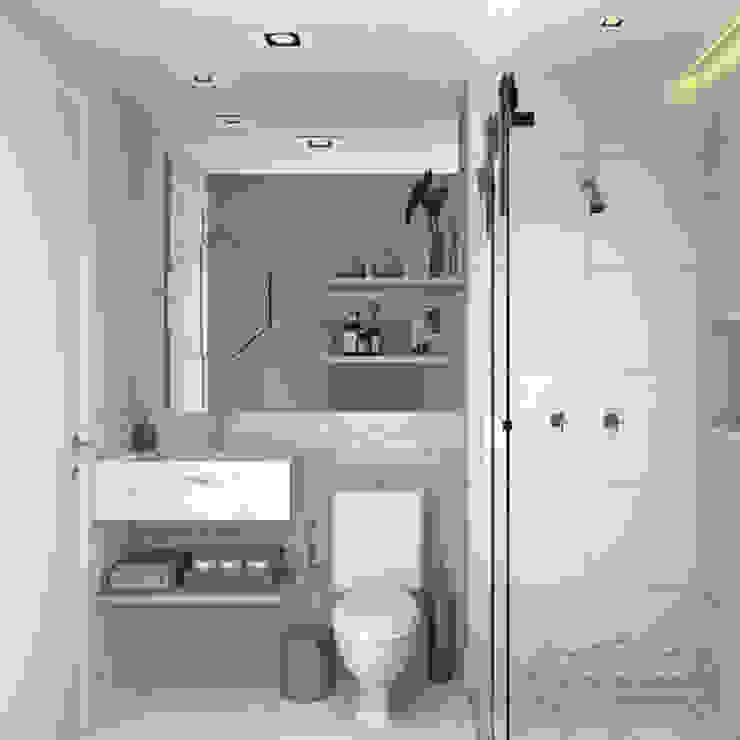 Decoropravocê - Decoração ao seu alcance. Scandinavian style bathroom