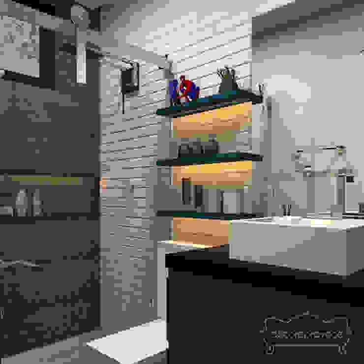 ห้องน้ำ by Decoropravocê - Decoração ao seu alcance.