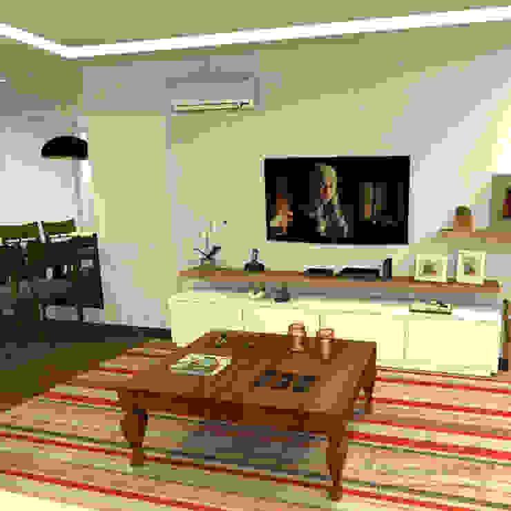 Decoropravocê - Decoração ao seu alcance. Rustic style living room