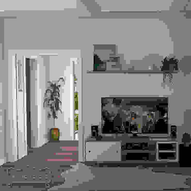 Sala TV Decoropravocê - Decoração ao seu alcance. Salas de estar ecléticas