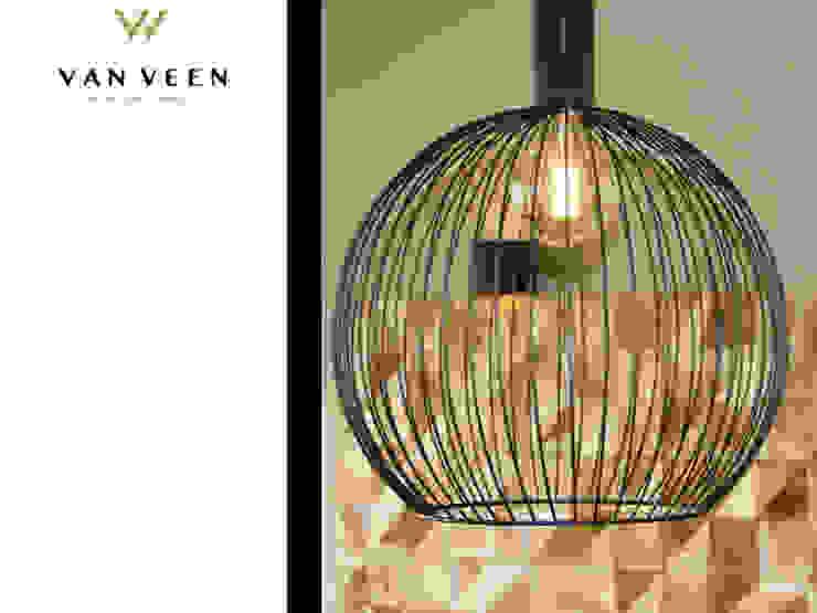 VERLICHTING Moderne woonkamers van VAN VEEN INTERIOR DESIGN Modern Hout Hout
