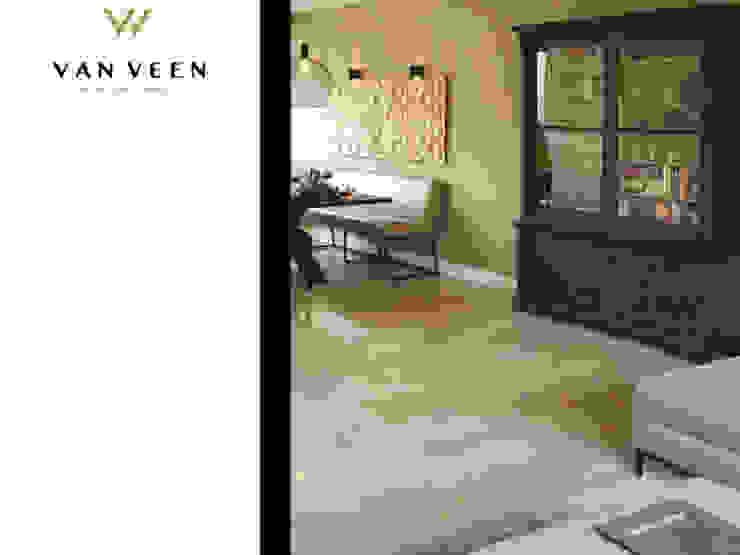 EETHOEK Moderne woonkamers van VAN VEEN INTERIOR DESIGN Modern