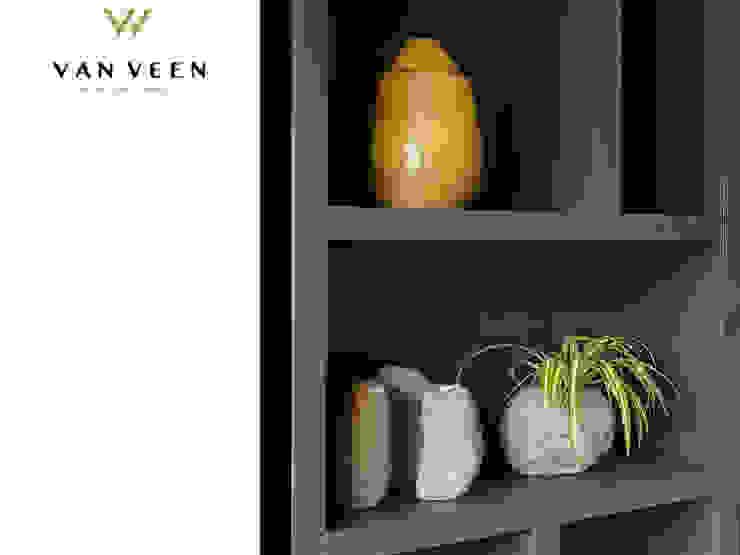 SFEER Moderne woonkamers van VAN VEEN INTERIOR DESIGN Modern Hout Hout