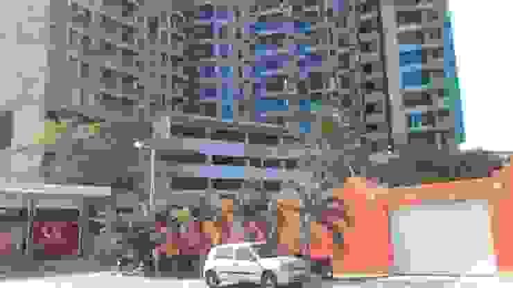 EDIFICIO RESERVA DEL MAR Pasillos, vestíbulos y escaleras de estilo moderno de ALTACONSTRUCCION S.A.S Moderno