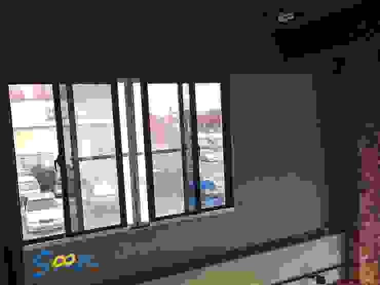 除了有電動開窗的功能外,也能從內而外加強第二道防盜機制,當卡榫鎖上溝槽後,外人無法任意從外部將窗戶打開 根據 Soon Industrial Co., Ltd. 現代風 金屬