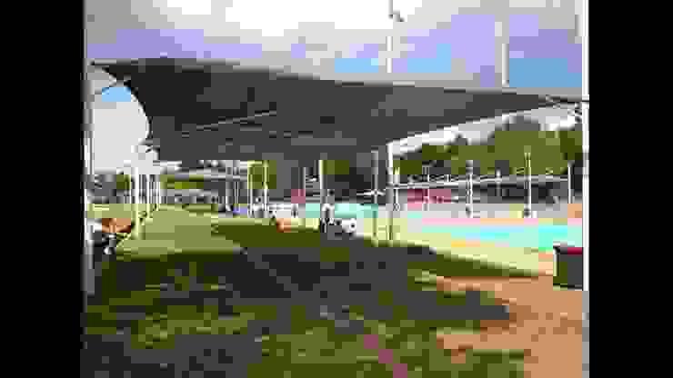 Atap canopy membrane Oleh Jaya Mandiri Teknik