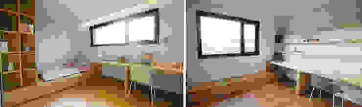 침실2,3 모던스타일 침실 by 더존하우징 모던