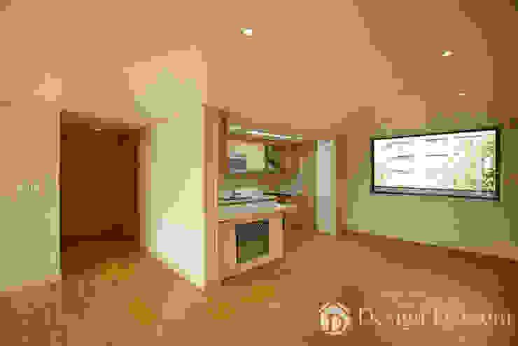워커힐 아파트 56py 주방 모던스타일 주방 by Design Daroom 디자인다룸 모던