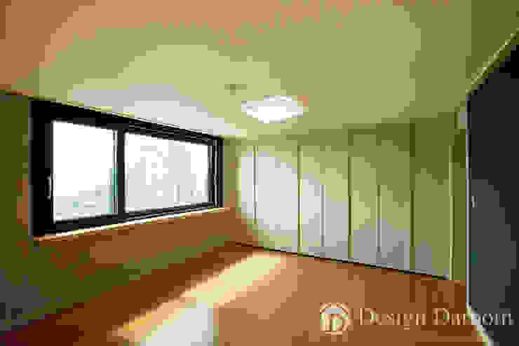 워커힐 아파트 56py 안방 모던스타일 침실 by Design Daroom 디자인다룸 모던